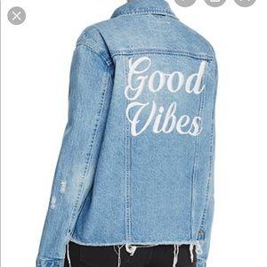 Pistola Good Vibes Denim Jacket